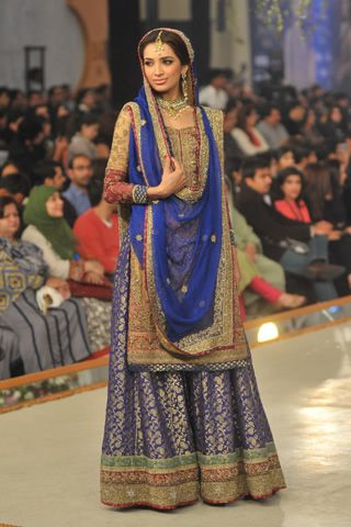 Sharara by Mehdi at Pantene Bridal Couture Week 2013