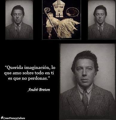 ANDRÉ BRETON, precursor del Movimiento Surrealista, poeta, pintor y crítico francés. Nació el 18 de febrero de 1896.