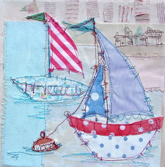 Bobbing Boats by priscillajones, via Flickr - love her boats and beach houses!