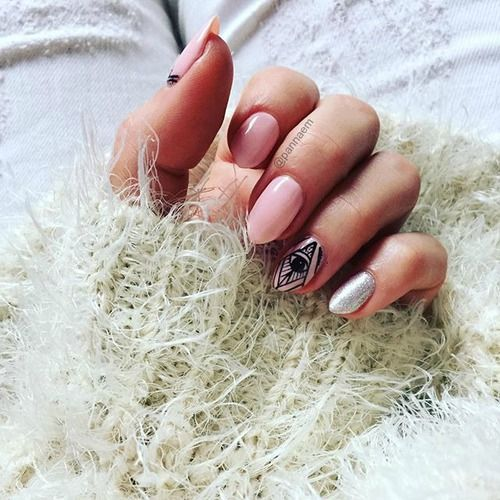 nails, nail, nailsinspiration, hybryda