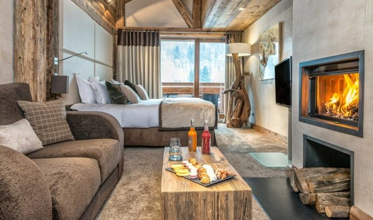 D coration int rieur chalet montagne 50 id es inspirantes chalets design et interieur for Idee decoration d interieur
