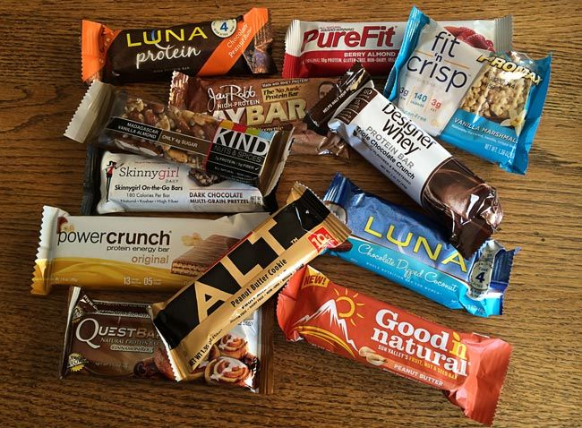 Which Energy Bar is Right for Me (and tastes good???) -- recommendations from a personal trainer