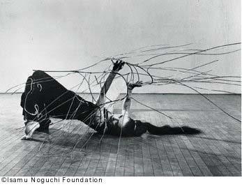 Noguchi and Graham, seeing at Naguchi museum in NY.