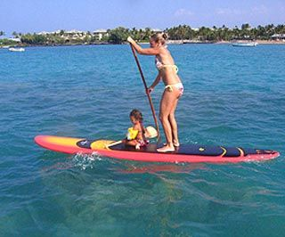 stand up paddle board with kids! Awesome and love it!