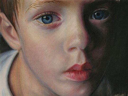 Best Brian Scott Realistic Art Images On Pinterest Pencil Art - Artist uses pencils to create striking hyper realistic portraits