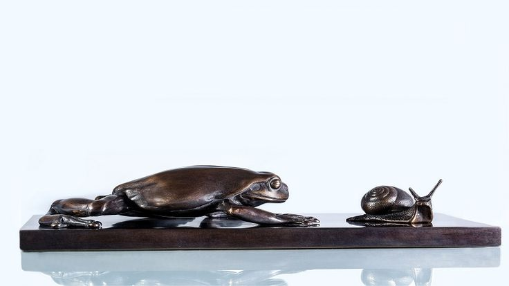 A love of sculpture and wildlife shared through the medium of bronze.