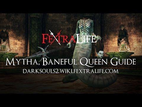 Mytha Baneful Queen Boss Guide - Dark Souls 2 - http://freetoplaymmorpgs.com/dark-souls-3/mytha-baneful-queen-boss-guide-dark-souls-2