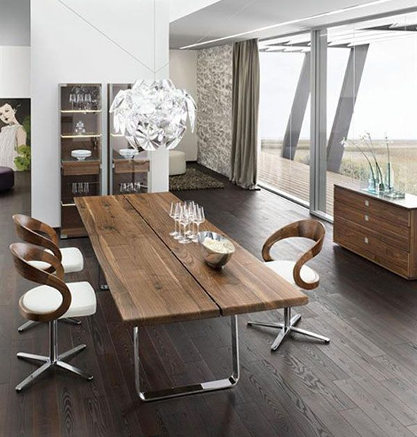 Solid Wood Dining Table And 6 Chairs - Ls8 in Leeds   Dining