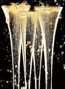 sparkling champagne