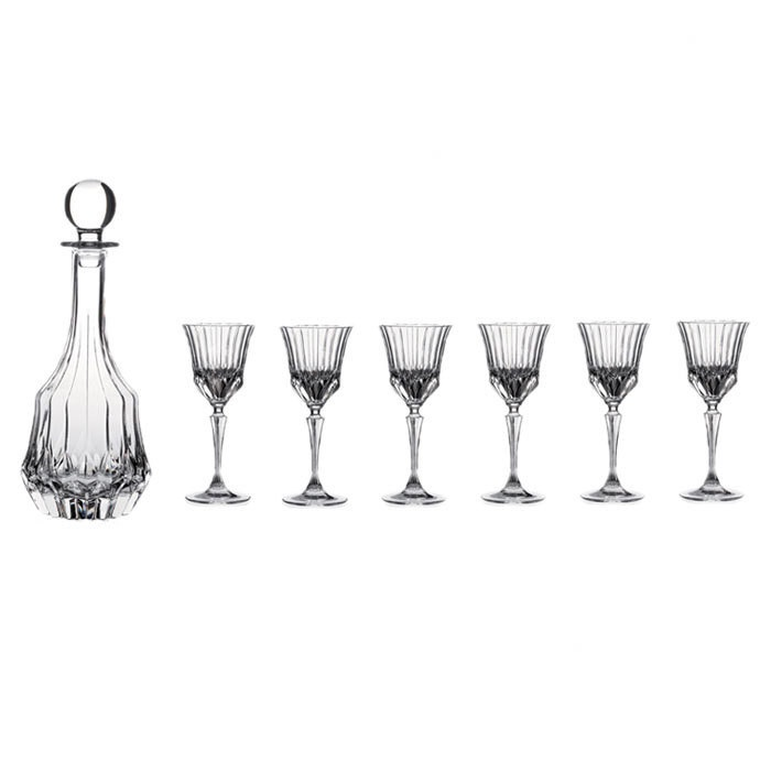7 Piece Adagio Decanter & Glass Set