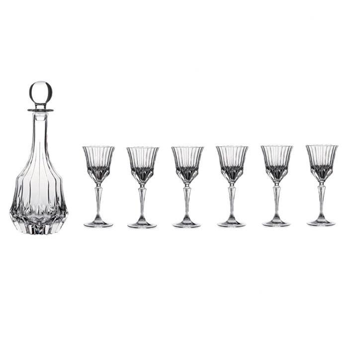 7 Piece Adagio Decanter & Glass Set