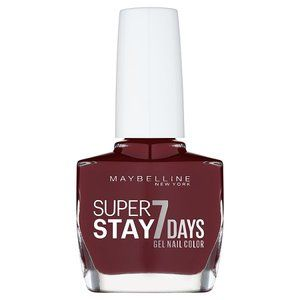 Maybelline Forever Strong Gel 287 Midnight Red Nail Polish