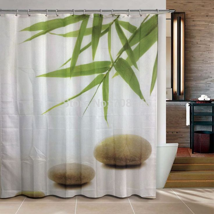 cheap bamb y piedra zen productos de bao ducha cortina x cm bao cortina with ultima moda en cortinas