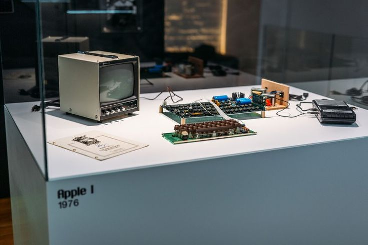 The Apple I, the machine that started a personal computing revolution.