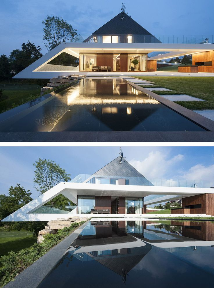 Mobius Architecture have designed the Edge House, located in Kraków, Poland.