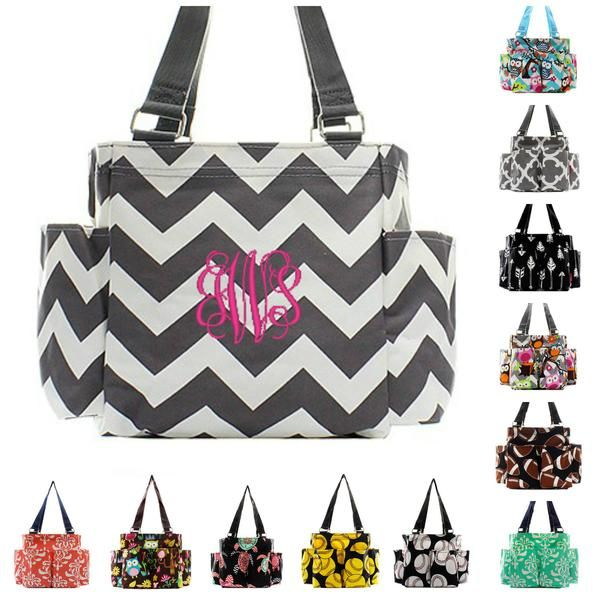 Personalized Caddy Organizing Tote Bag