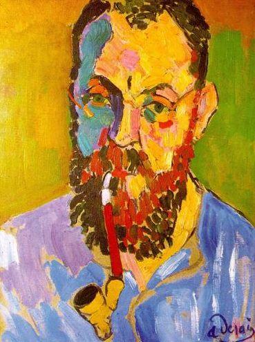 Andre Derain, Portrait of Matisse