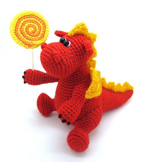 Amigurumi Tutorial Masha : Grow, Baby dragon amigurumi pattern by Masha Pogorielova ...