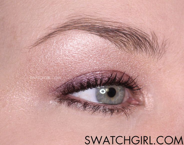 #EOTD: Urban Decay Shadow Box – Dusty Purple. Find more like this on swatchgirl.com!