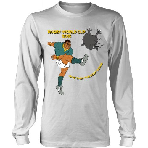 Rugby World Cup 2015 - Springboks - Give them the boot (longsleeve)