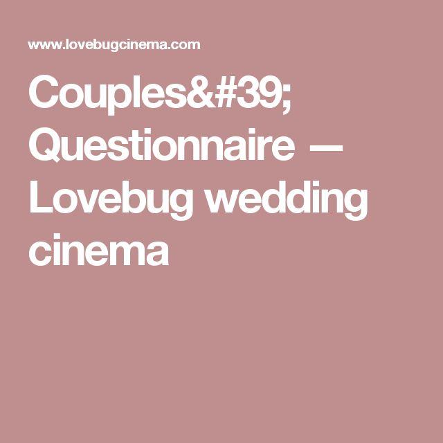 Fabuleux Les 25 meilleures idées de la catégorie Questionnaire couple sur  BJ73