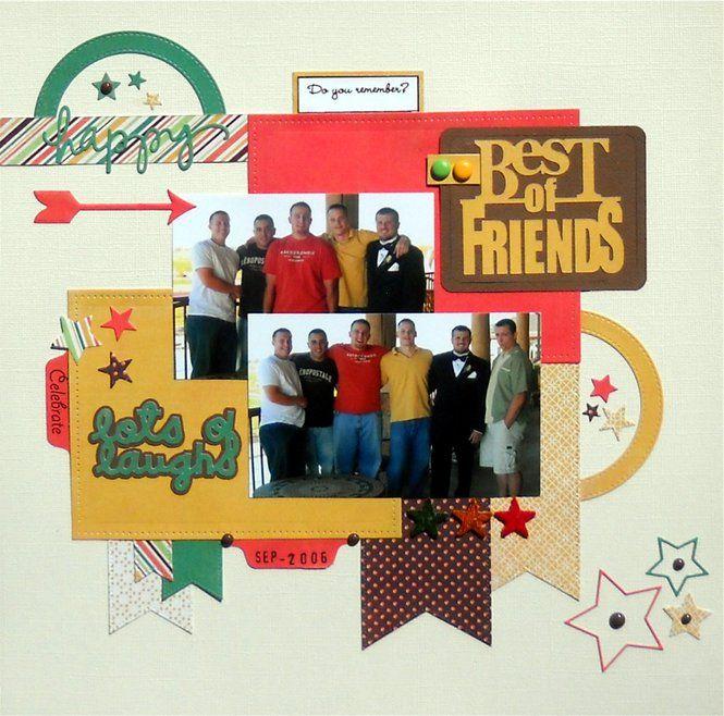 181 best Scrapbook Layouts - Friends & Friendship images ...