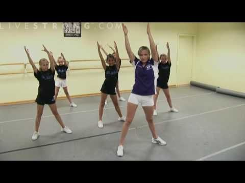 How to Do Cheerleading Dance Combinations - YouTube