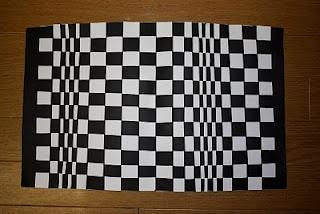 OP Art Paper weaving