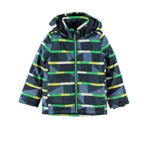 Name It Mellon Boys Winter Coat - Stripe. Only £20.00 inc Free Delivery