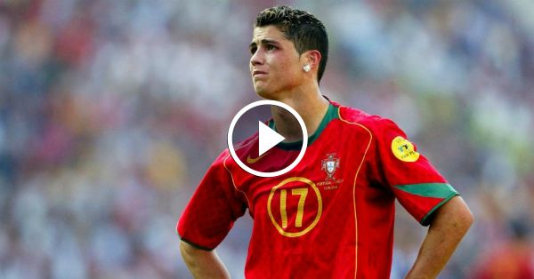 Video - Amazing skills by young Cristiano Ronaldo for Portugal
