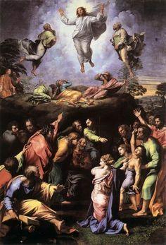 Raffaello, Trasfigurazione, Pinacoteca Vaticana, Musei Vaticani