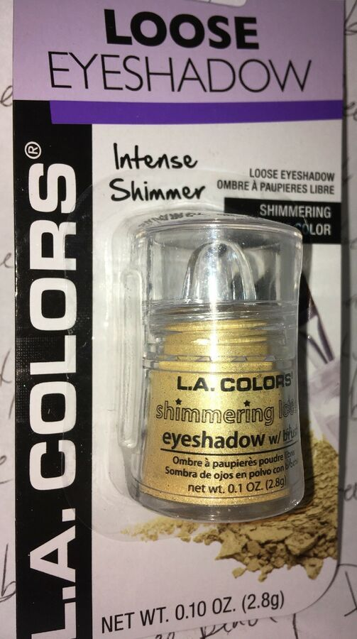 be74148a9e8 L.A. Colors Loose Eye Shadow CBES402 * SUNSHINE * Yellow Gold Shimmering  Shimmer 81555664022 eBay#Shadow#SUNSHINE#Colors