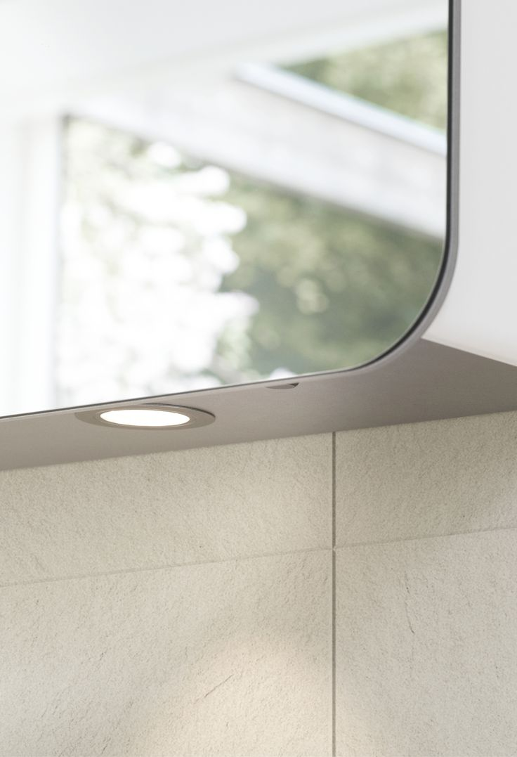 Good lighting is everything in the bathroom. All Dansani Curvo mirror cabinets are fitted with energy-efficient LED lamps, shaver socket and sensor switch. Your cabinet can be supplemented with LED underlights that provide extra light over the washbasin.