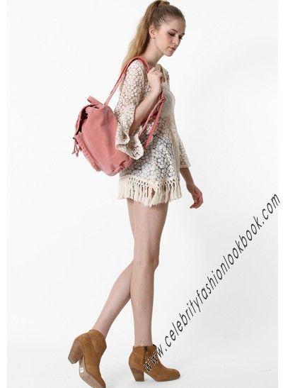 Crochet Tassel Mini Dress - TeenFashion  US$29.99  Free shipping worldwide  #fashion #style #dress #beach #beachdress #teens #teen #teenfashion #festival #festivalfashion #casual