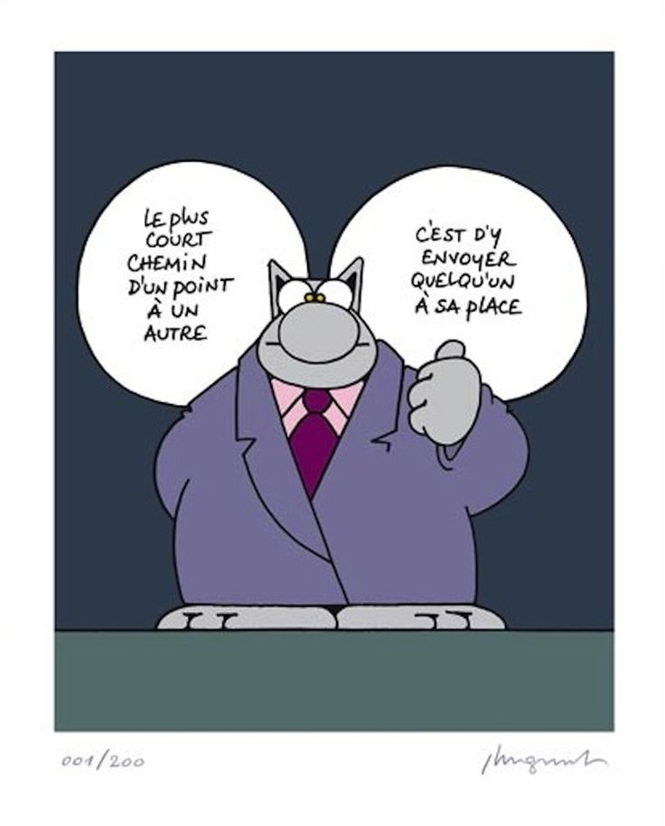 Philippe Geluck, Chemin (Le Chat)