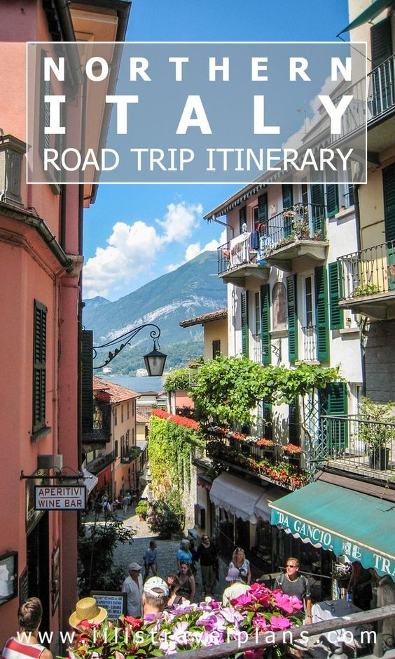 Here's a fun vacation idea: take a road trip through northern Italy.