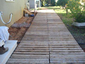 O Deck Street da Luciana Krontal, feito de pallets