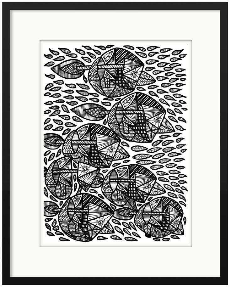 Kunstsamlingen | Fisk eller fugl? | Klaus Brage | Find it at kunstsamlingen.dk