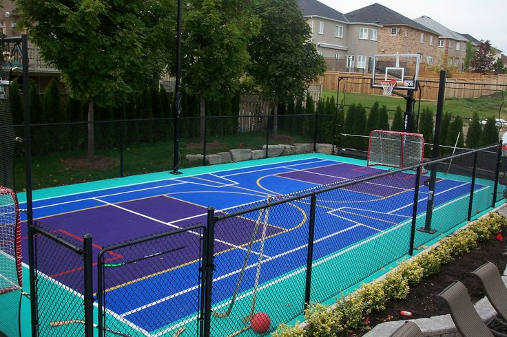 1000 Images About Backyard Courts On Pinterest