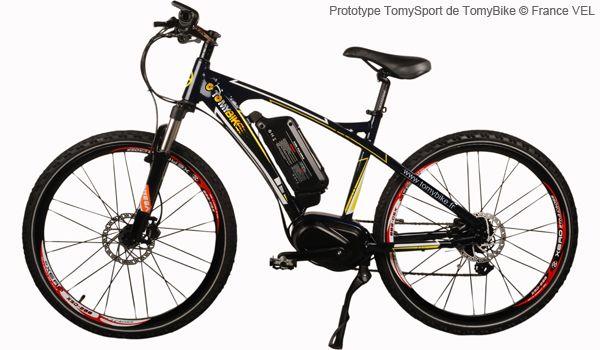 TomySport : un VTT à assistance électrique