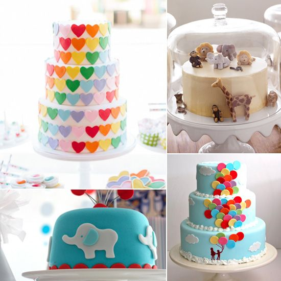 17 Best Ideas About Toddler Birthday Cakes On Pinterest