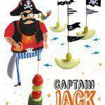 Piraten traktatie Captain Jack