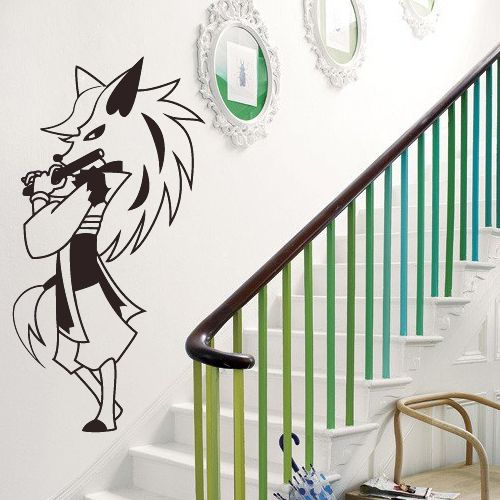 Incroyable Anime Wall Decals Anime Stickers Fox Fife Anmwd8. Removable Vinyl Anime Wall  Decals Anime Stickers
