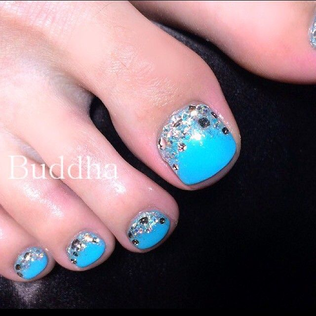 Blue Nail Polish Stained My Nails: 25+ Best Ideas About Blue Pedicure On Pinterest