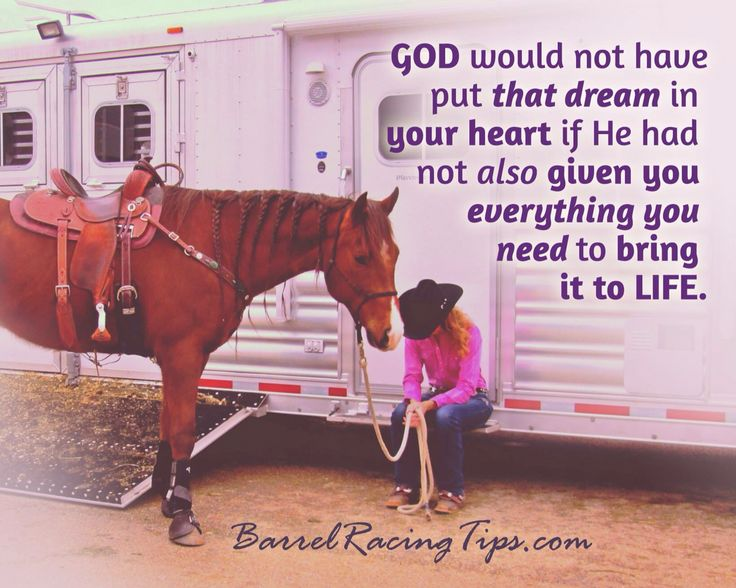 Exactly right...He gives you dreams for a REASON!