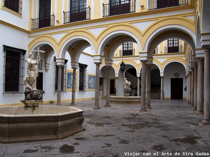 Patio del Hospital de la Caridad de Sevilla