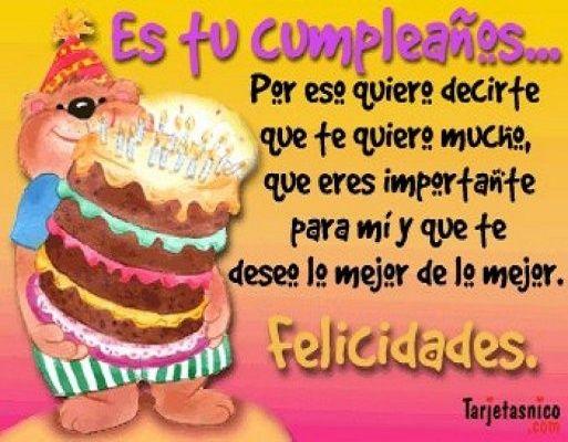 feliz cumpleaños para un amigo especial que esta lejos