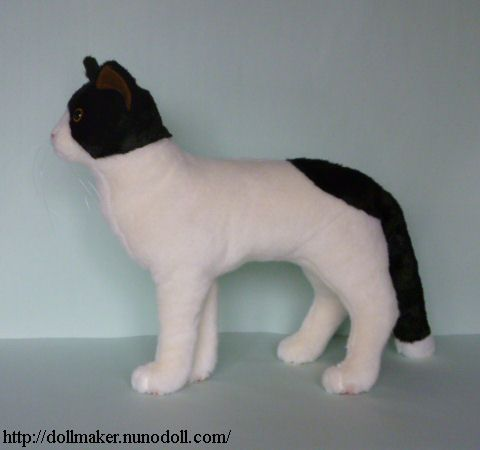 Realistic Cat Plush Sewing Pattern