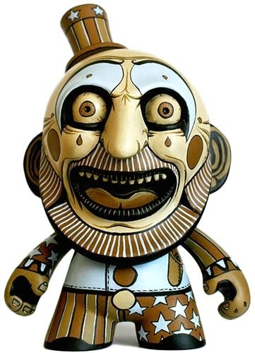 Captain Spaulding par Hugh Rose ! #ArtToy #VinylToy #DesignerToy #CustomToy