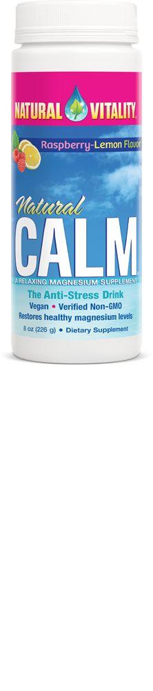 Natural Health: NATURAL VITALITY Natural Calm Magnesium Supplement...